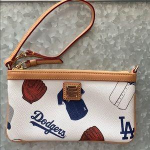 Dooney & Bourke MLB wristlet